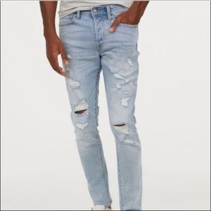 👖HP👖H & M skinny coupe moulante jeans